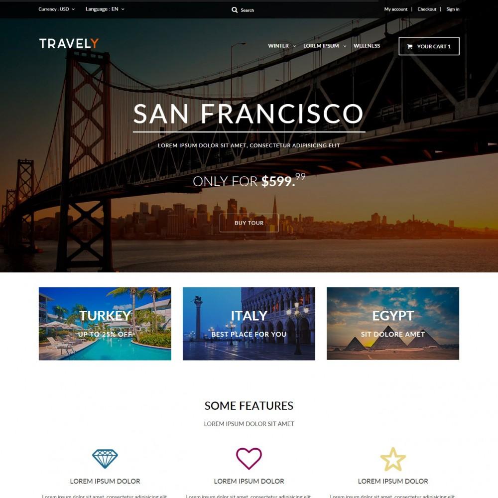 theme - Спорт и Путешествия - Туристическое Агенство - 1