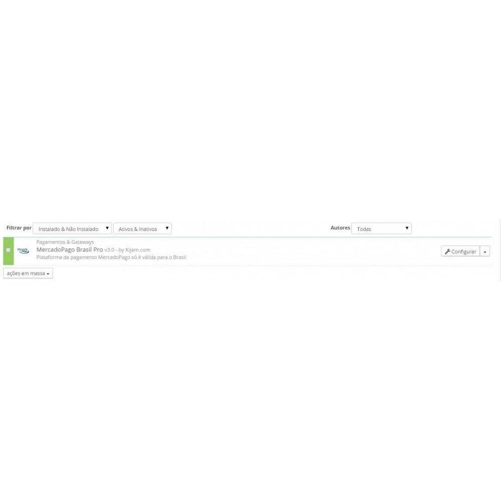 module - Pagamento por cartão ou por carteira - MercadoPago e MercadoEnvios para o Brasil - 1