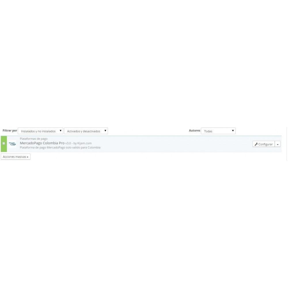 module - Pago con Tarjeta o Carteras digitales - MercadoPago Colombia Pro - 3