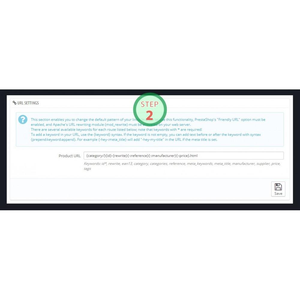 module - SEO (référencement naturel) - [SEO Ultimate] Advanced URL, META Tags And Social - 5