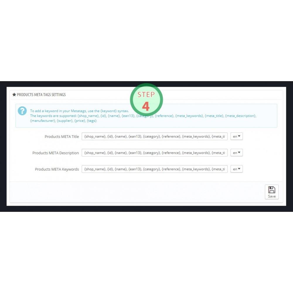 module - SEO (référencement naturel) - [SEO Ultimate] Advanced URL, META Tags And Social - 7