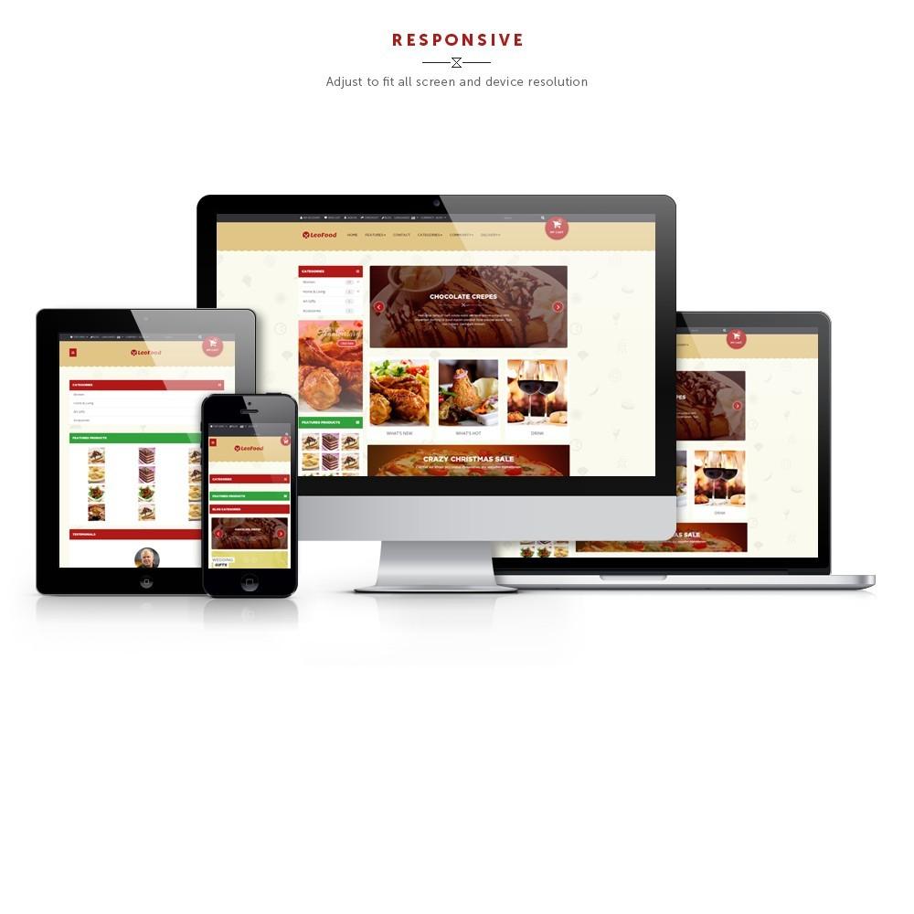 theme - Продовольствие и рестораны - Leo Food - 1