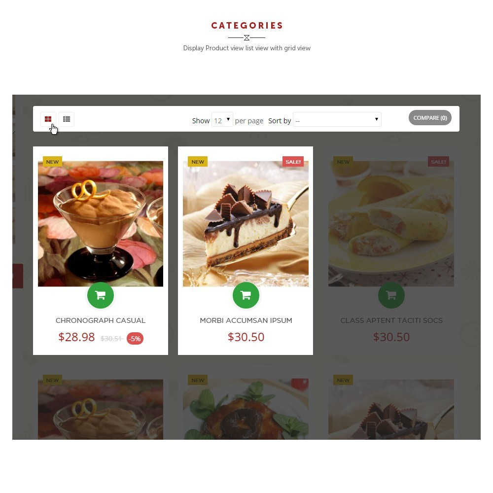 theme - Продовольствие и рестораны - Leo Food - 3