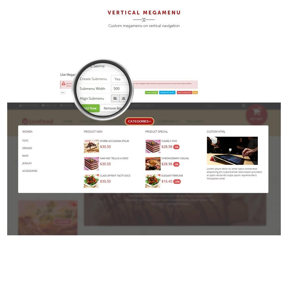 theme - Продовольствие и рестораны - Leo Food - 7