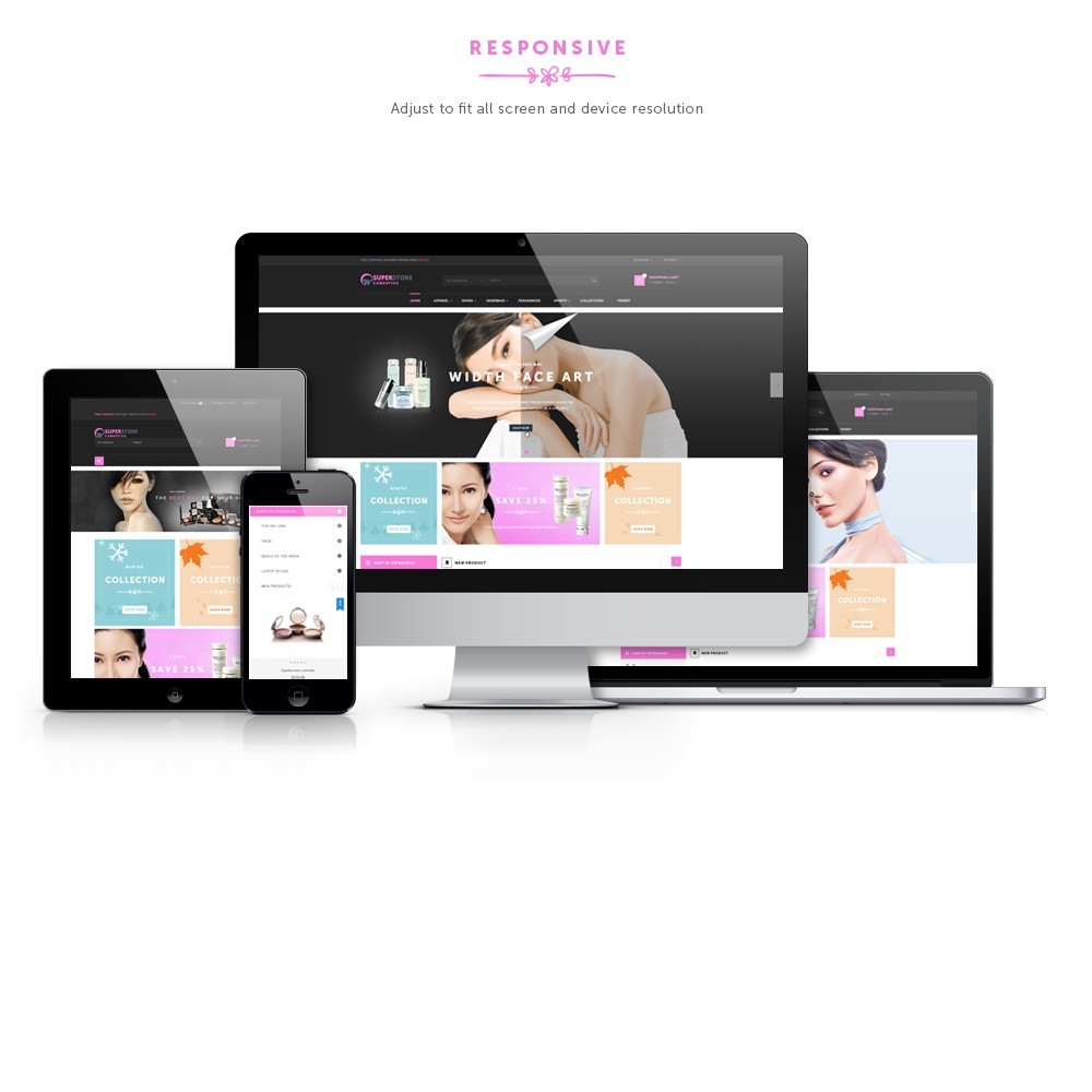 theme - Health & Beauty - Cosmetic Shop - 1