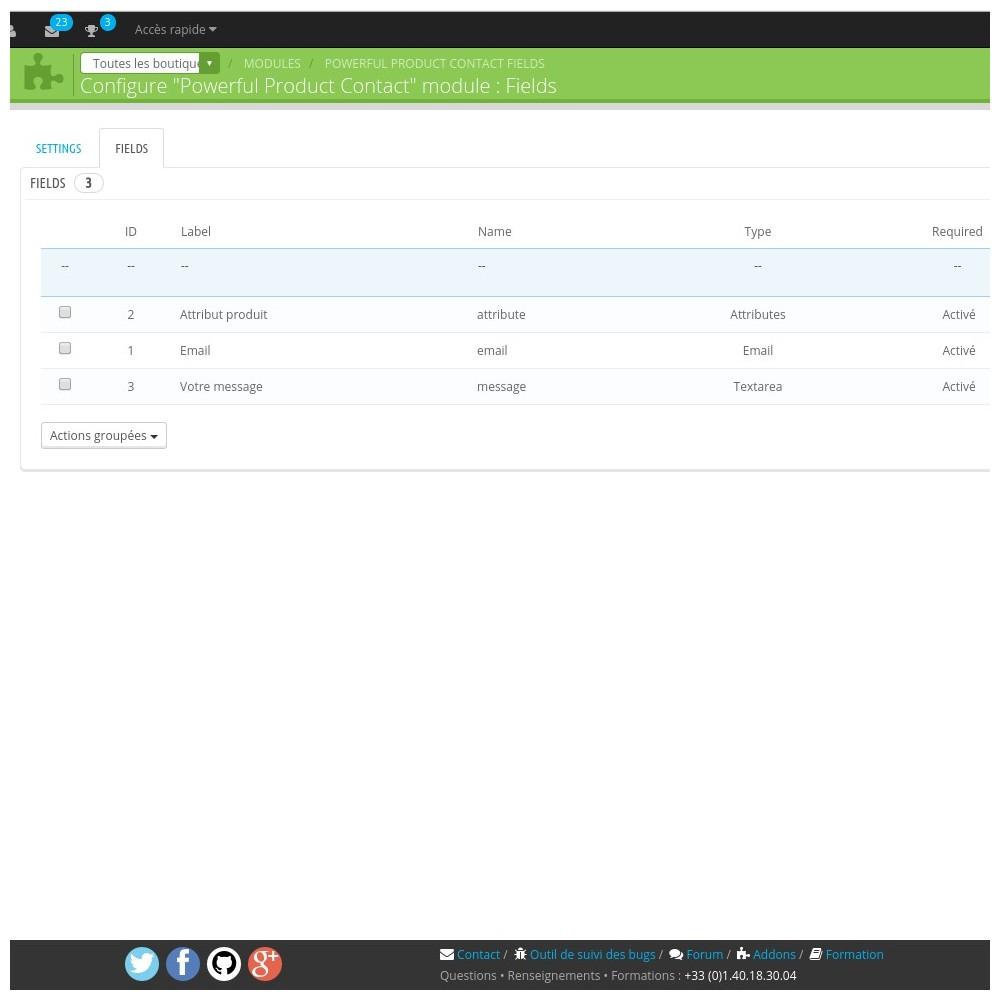module - Formulaires de Contact & Sondages - Powerful Product Contact - 2