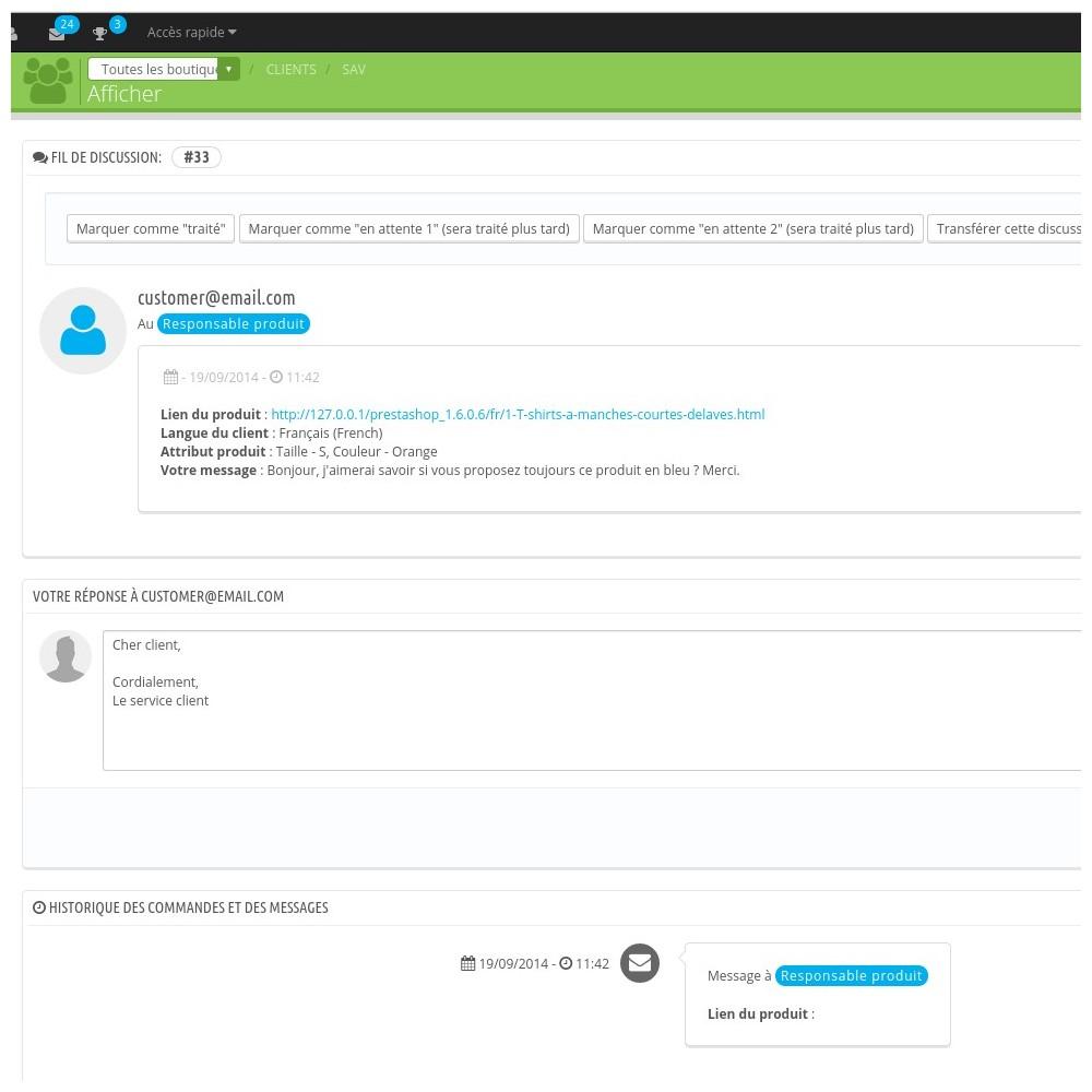 module - Formulaires de Contact & Sondages - Powerful Product Contact - 6
