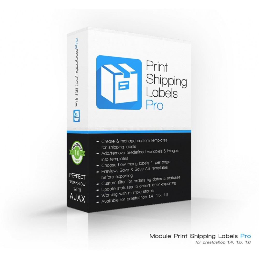 module - Preparación y Envíos - Imprimir envío etiquetas Pro (dirección impresión) - 1