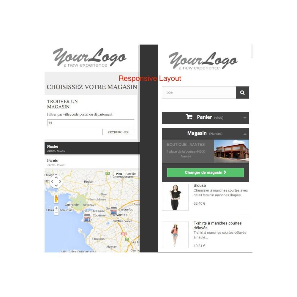 module - International & Localisation - Sélecteur de boutique / Drive - 5