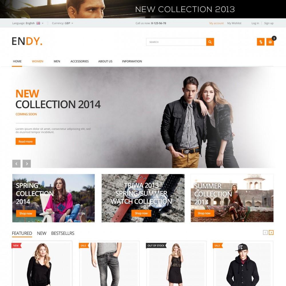 theme - Мода и обувь - Endy - Дизайнерская Одежда - 1