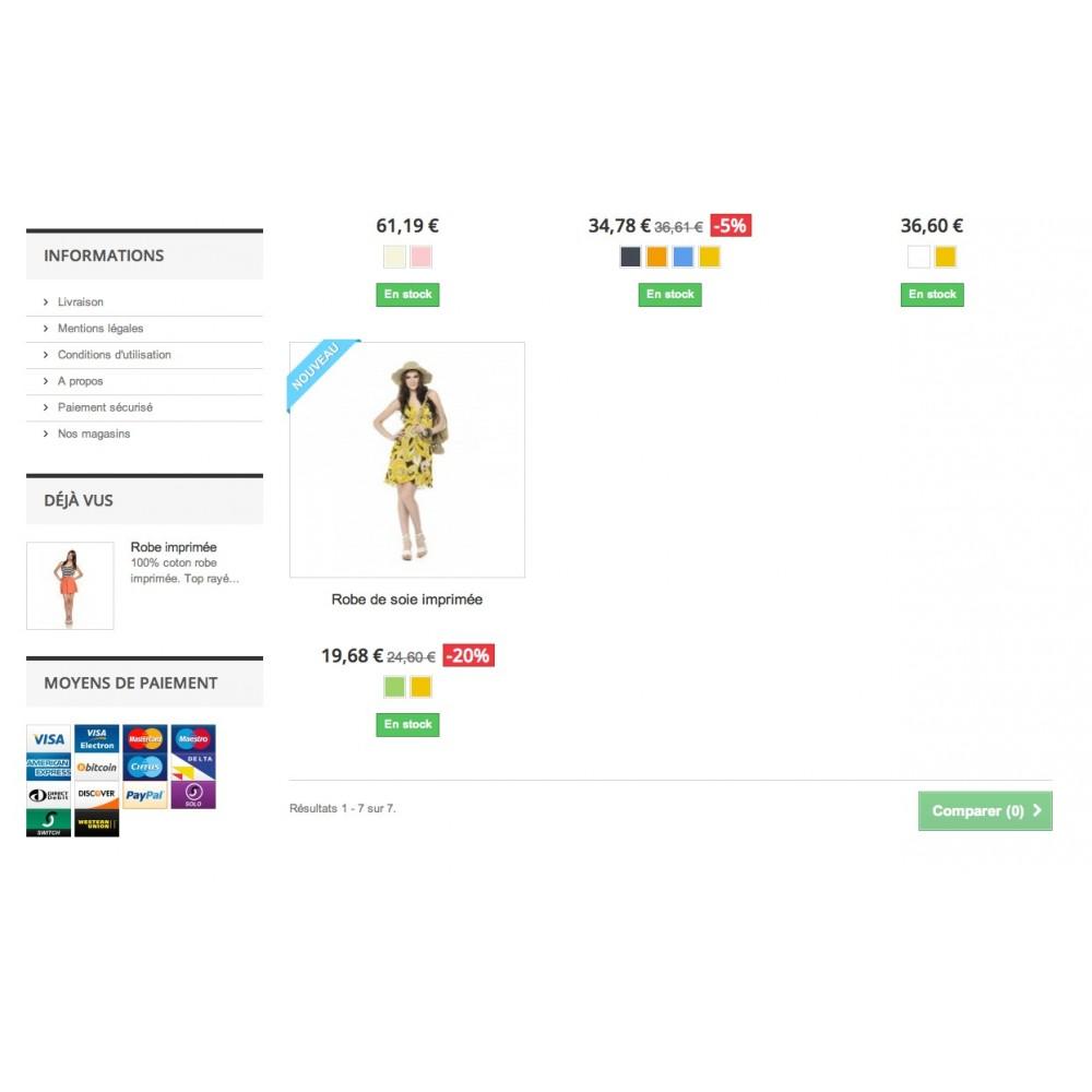 module - Personnalisation de Page - Logos des moyens paiements Avancé - 4
