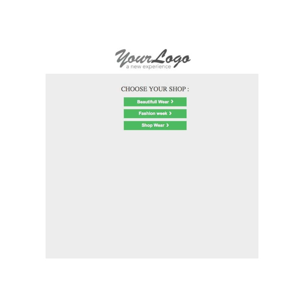 module - Internacionalización y Localización - Shop Selector / Drive - 2
