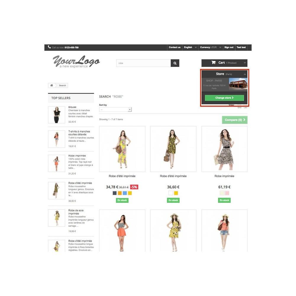 module - Internacionalización y Localización - Shop Selector / Drive - 3