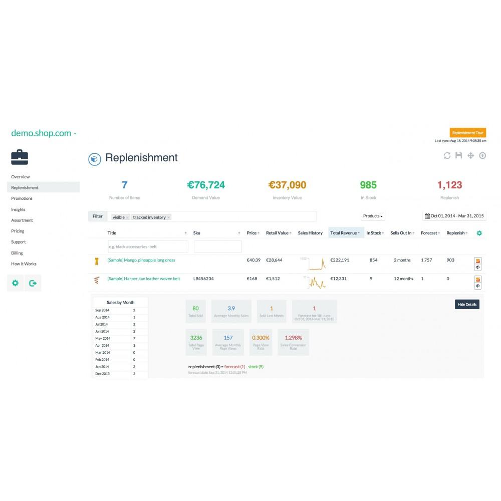 module - Stock & Leveranciersbeheer - Inventory Planner - 2