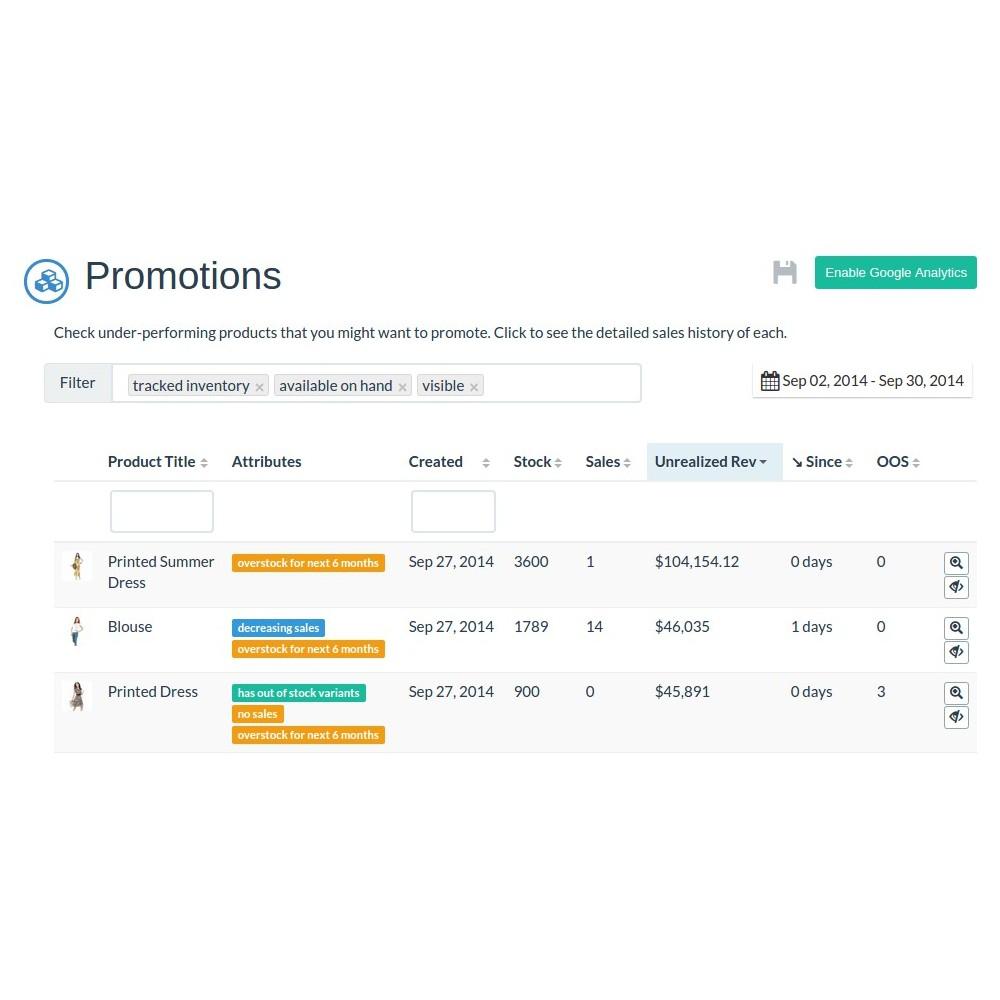 module - Stock & Leveranciersbeheer - Inventory Planner - 3