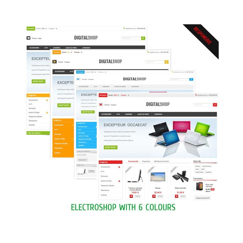 theme - Elektronika & High Tech - DIGITALSHOP - 2