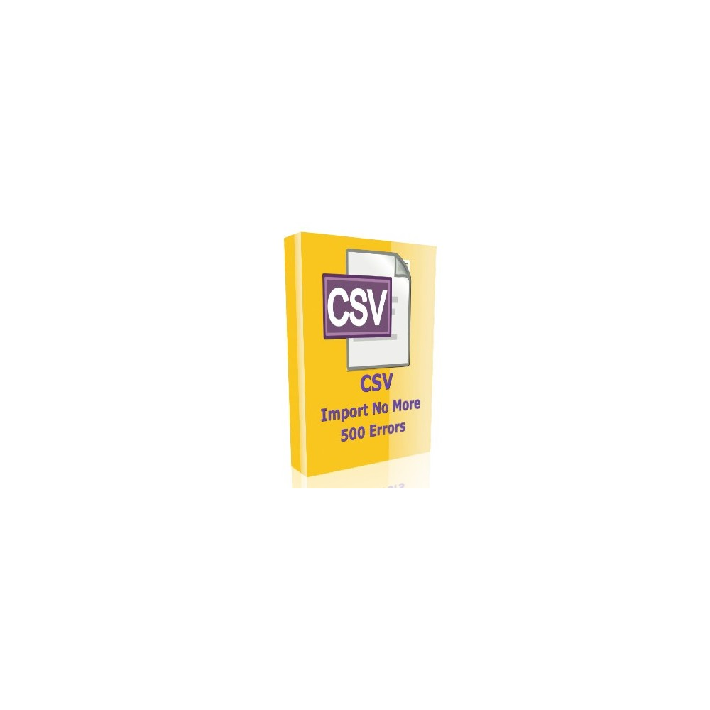 module - Importeren en Exporteren van data - CSV Import no more 500 errors - 1