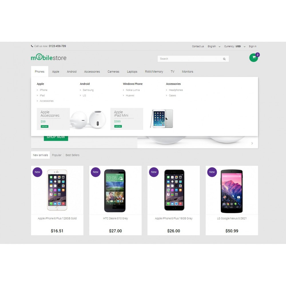 theme - Elektronika & High Tech - Digital Mobile Store Responsive - 5