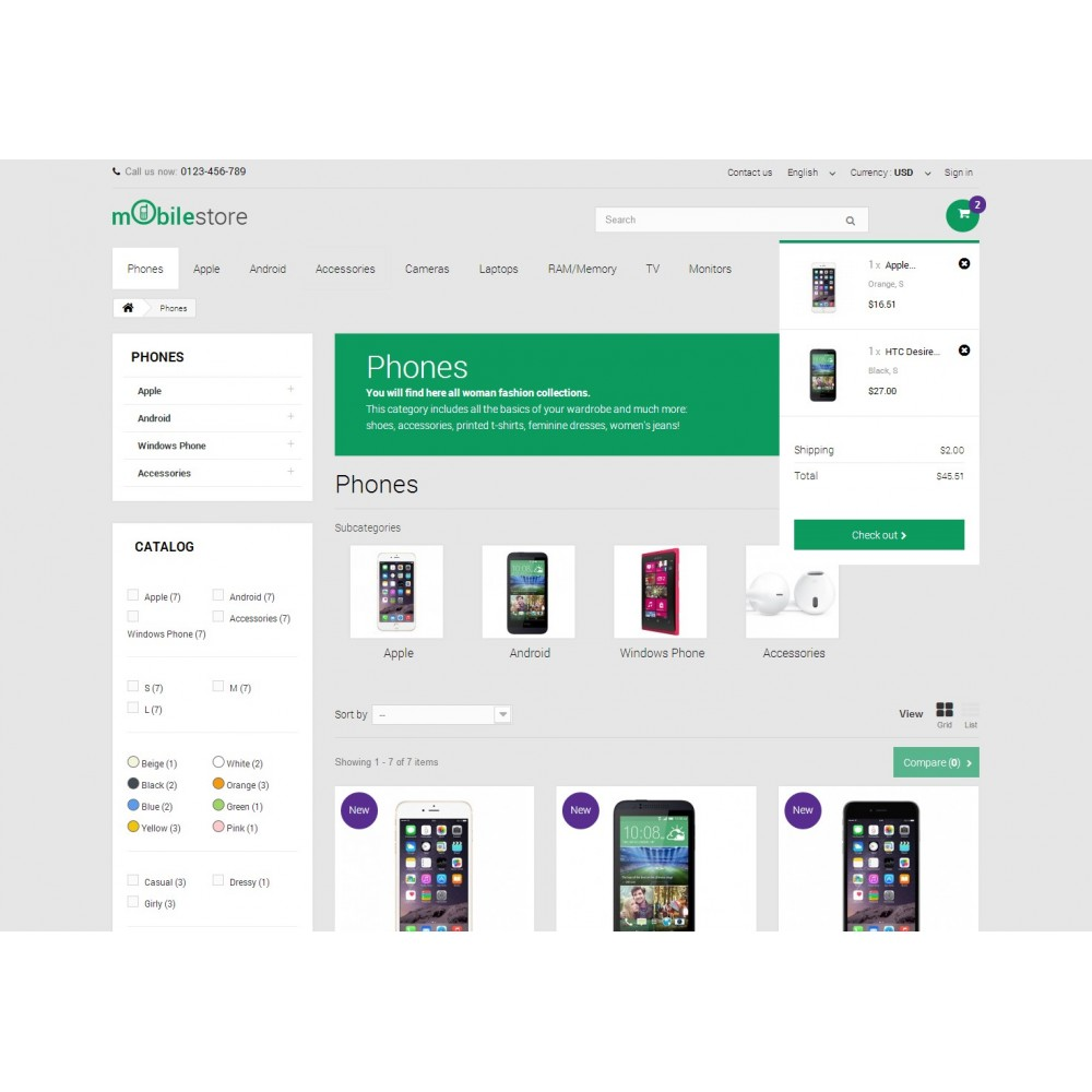 theme - Elektronika & High Tech - Digital Mobile Store Responsive - 6