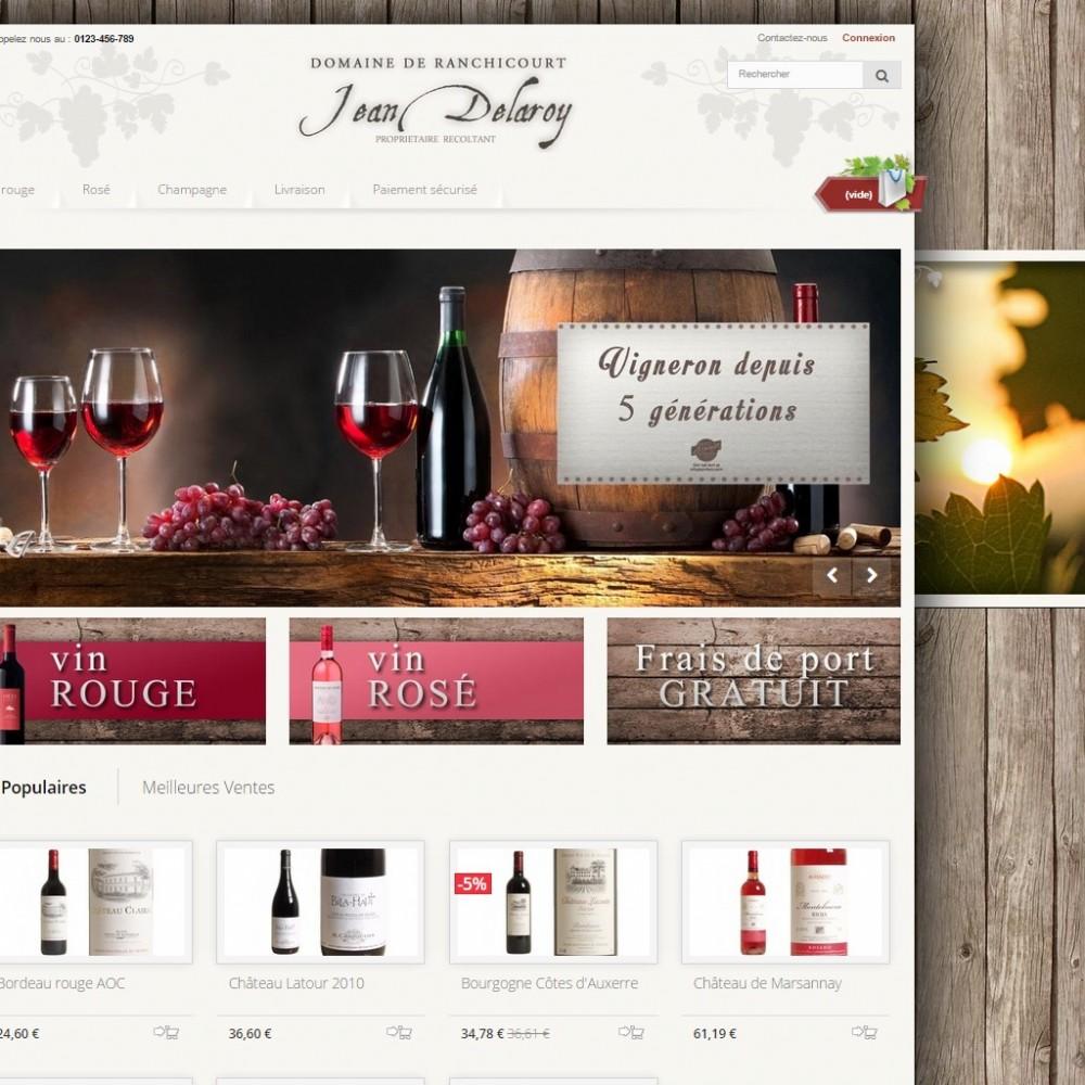 theme - Drank & Tabak - Pure Vigne ( Wine ) - 1