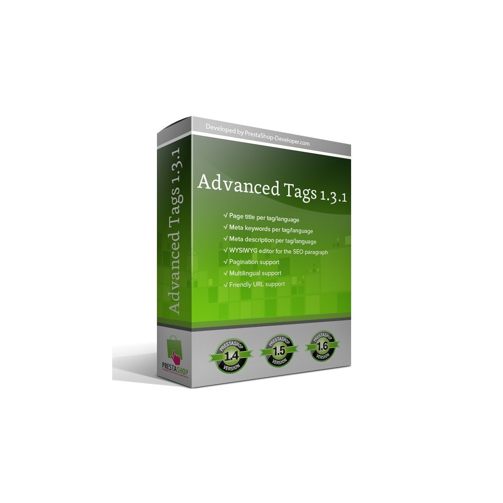 module - SEO (Referenciamento natural) - Advanced Tags - 1