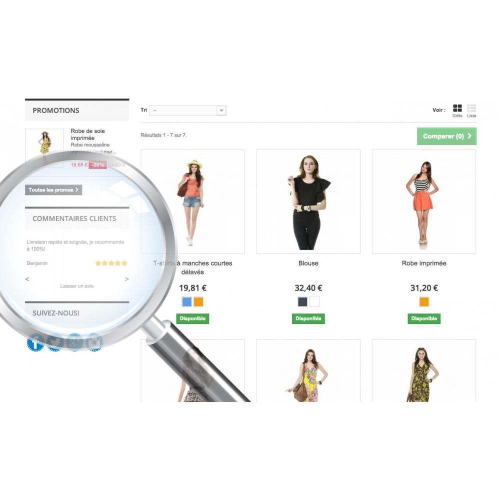 module - Recensioni clienti - Customer Comments - 1