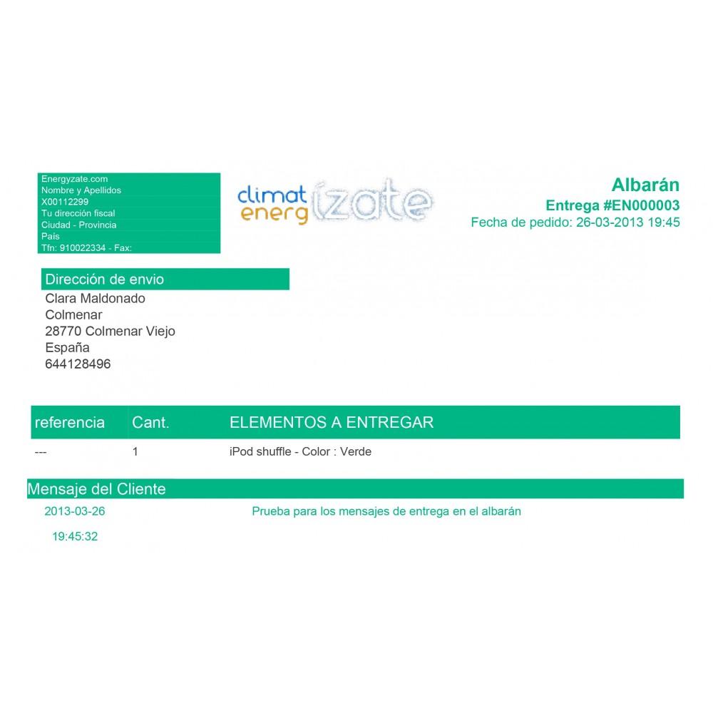module - Contabilidad y Facturas - Factura personalizada - 1