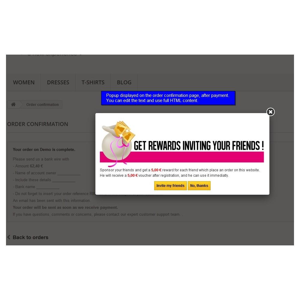 module - Fidelização & Apadrinhamento - All-in-one Rewards: Fidelidade, patrocínio, afiliação - 11