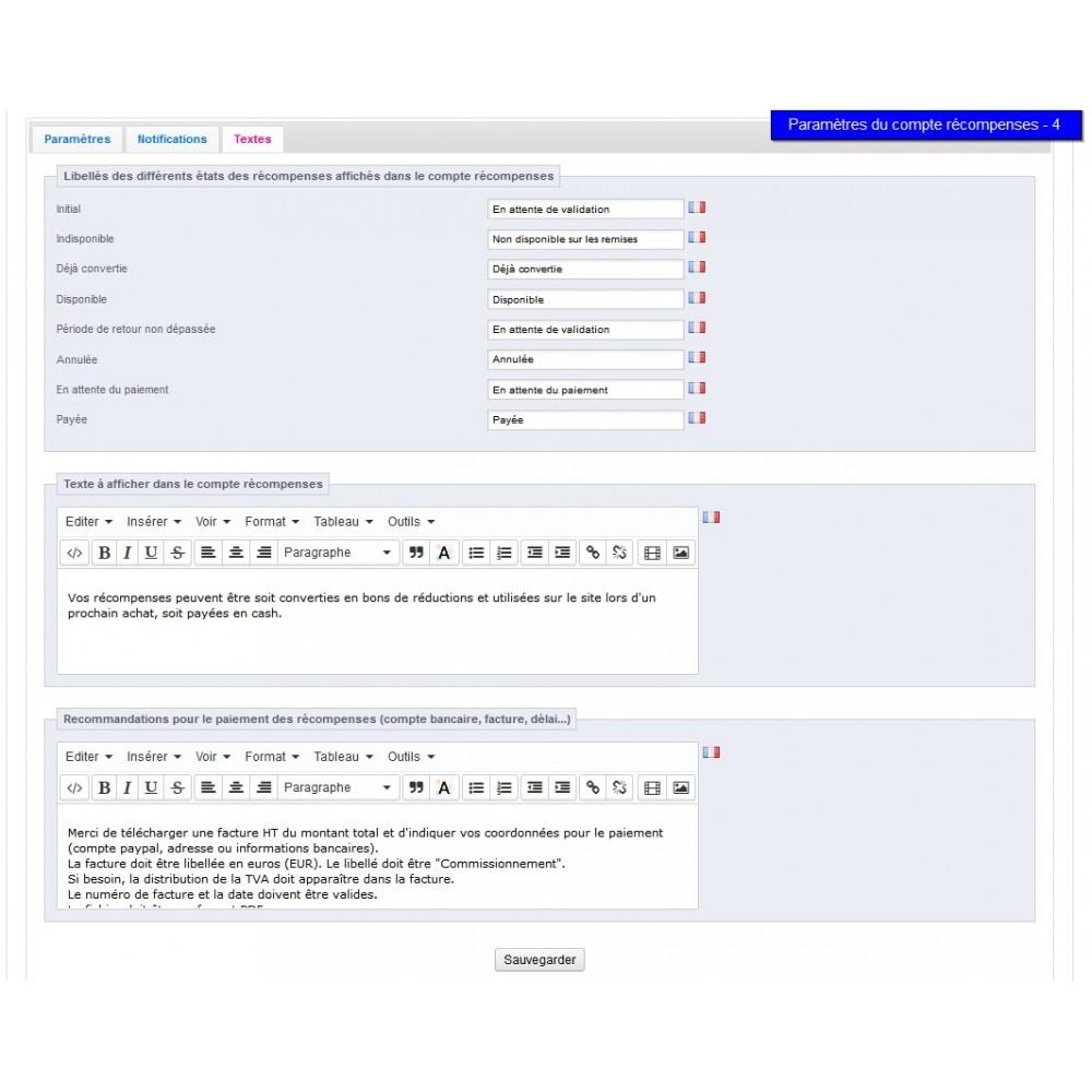 module - Fidélisation & Parrainage - All-in-one Rewards: fidélité parrainage affiliation... - 21