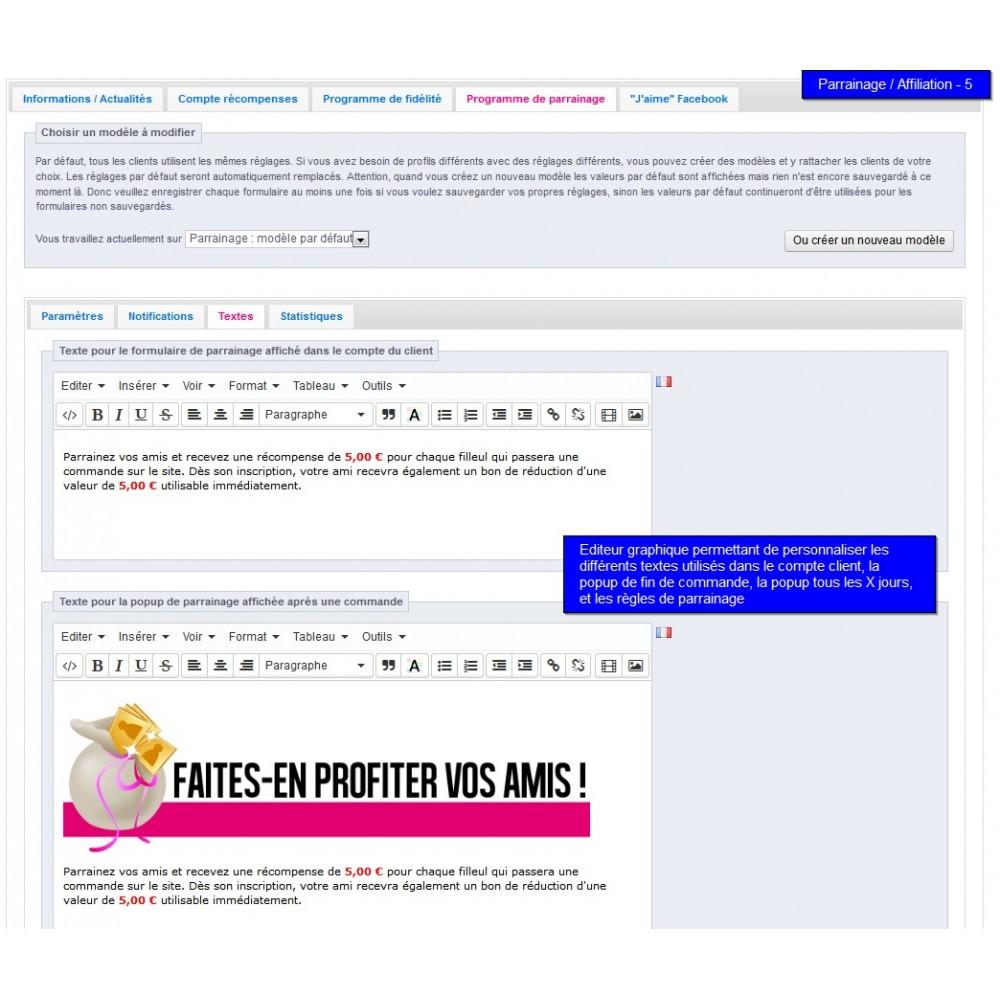 module - Fidélisation & Parrainage - All-in-one Rewards: fidélité parrainage affiliation... - 36