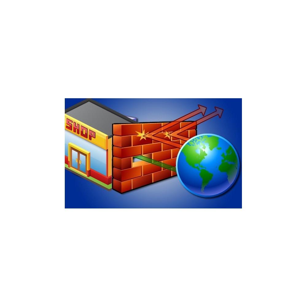 module - Seguridad y Accesos - Bloquear dirección Ip / países - 2