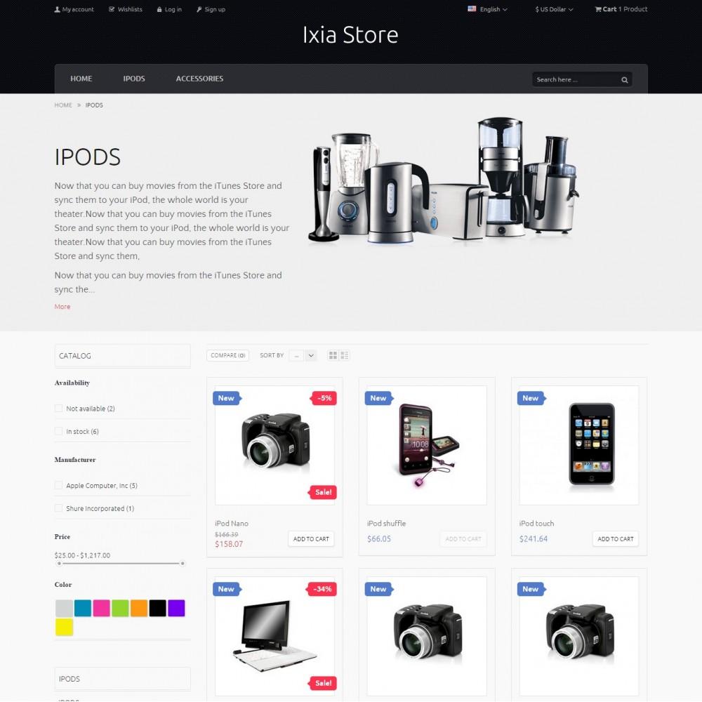 theme - Electronics & Computers - Ixia - Hi-tech Store - 3