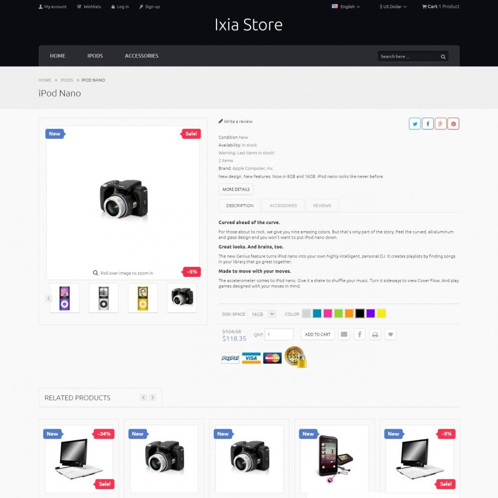 theme - Electronics & Computers - Ixia - Hi-tech Store - 4