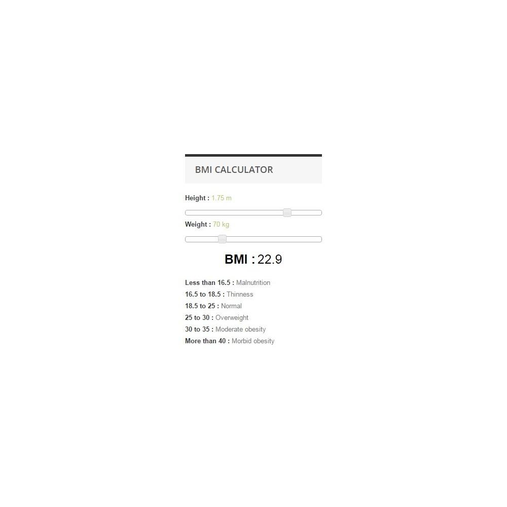 module - Размеры - BMI Calculator - 1