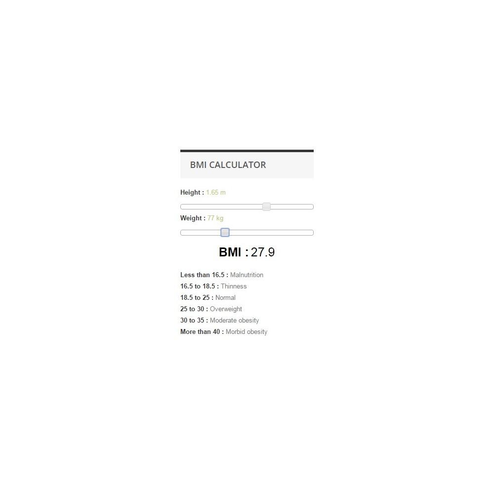 module - Размеры - BMI Calculator - 3