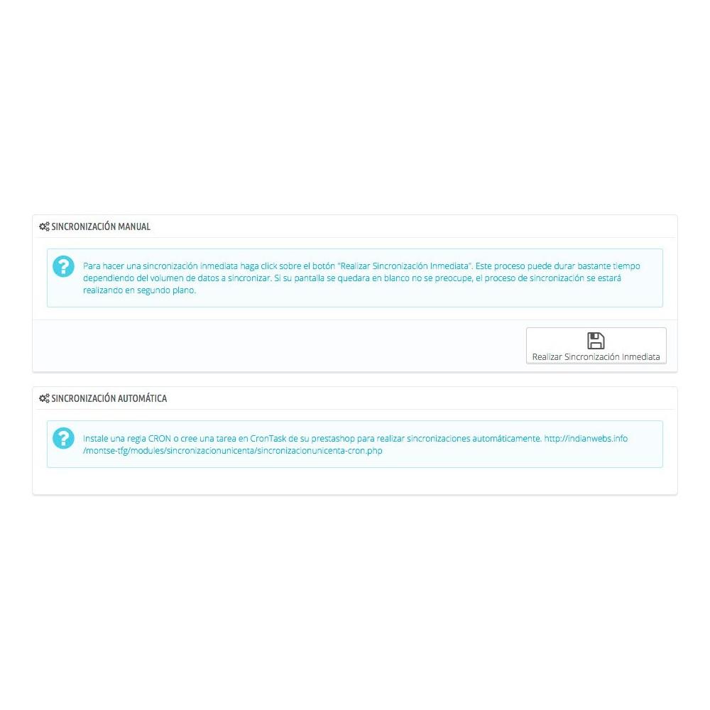 module - TPV (POS) - Sincronizador Prestashop - uniCenta - 3