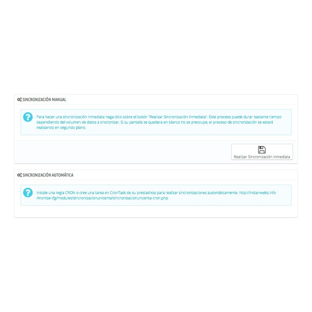 module - Punkt sprzedaży  (POS) - Synchronizer Prestashop - uniCenta - 3