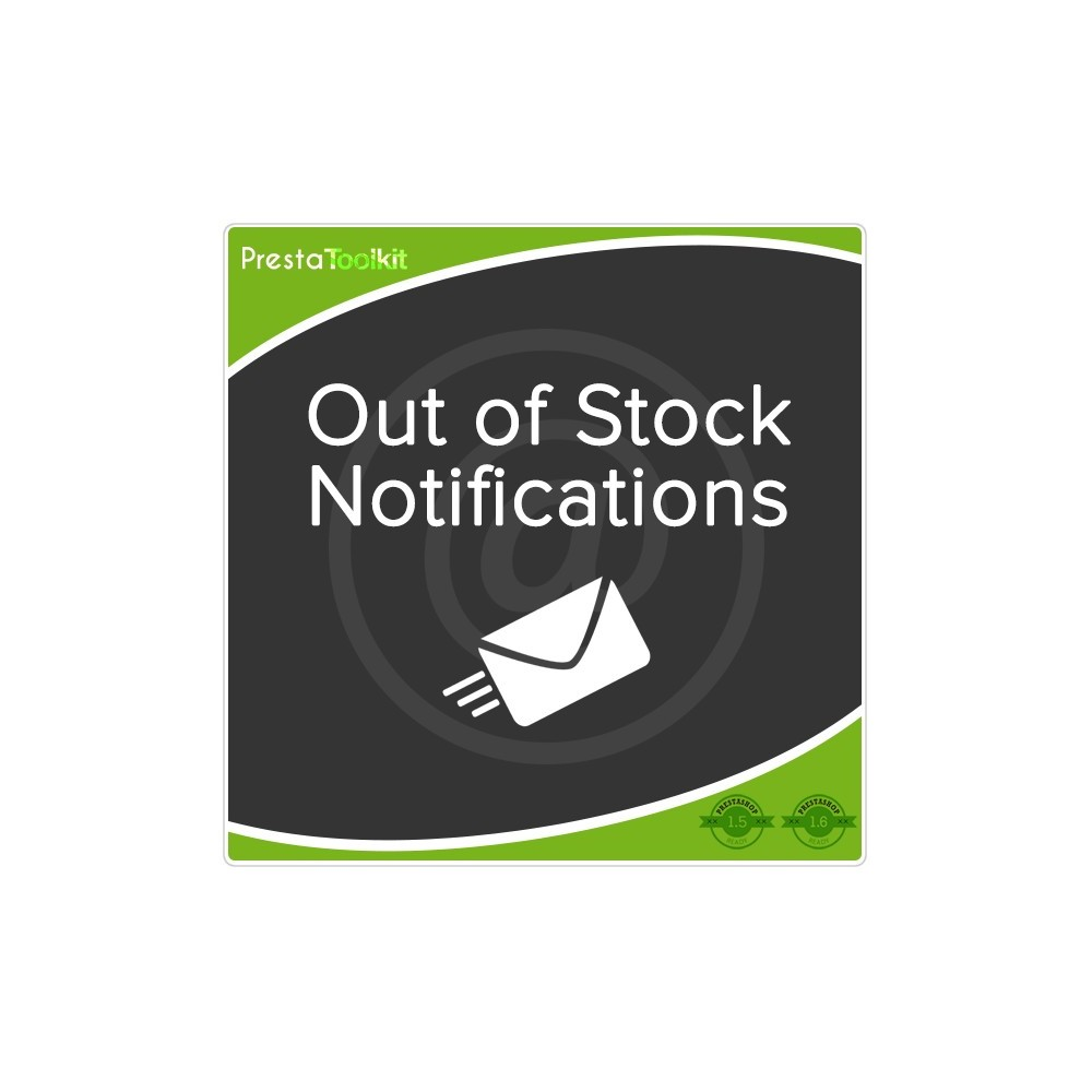 module - E-mails & Notícias - Out of Stock Notification - 1