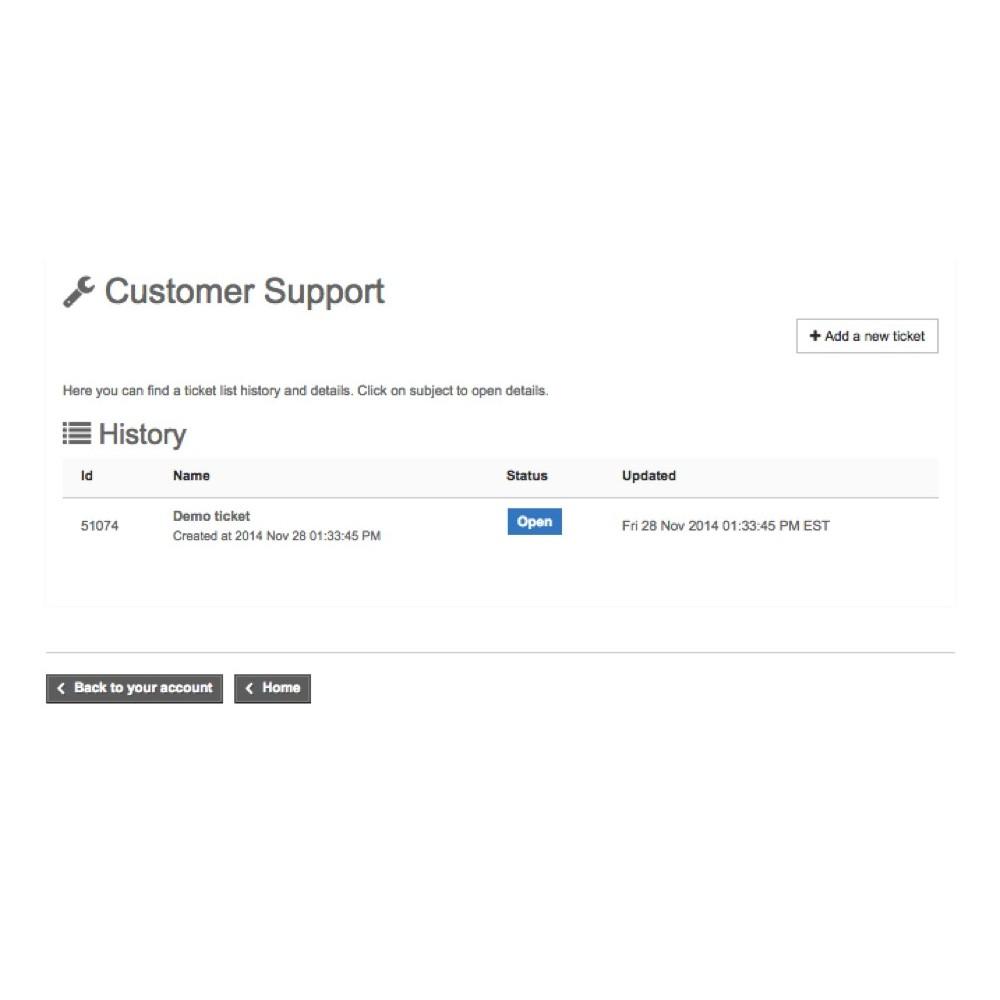 module - Service Client - Freshdesk - 3
