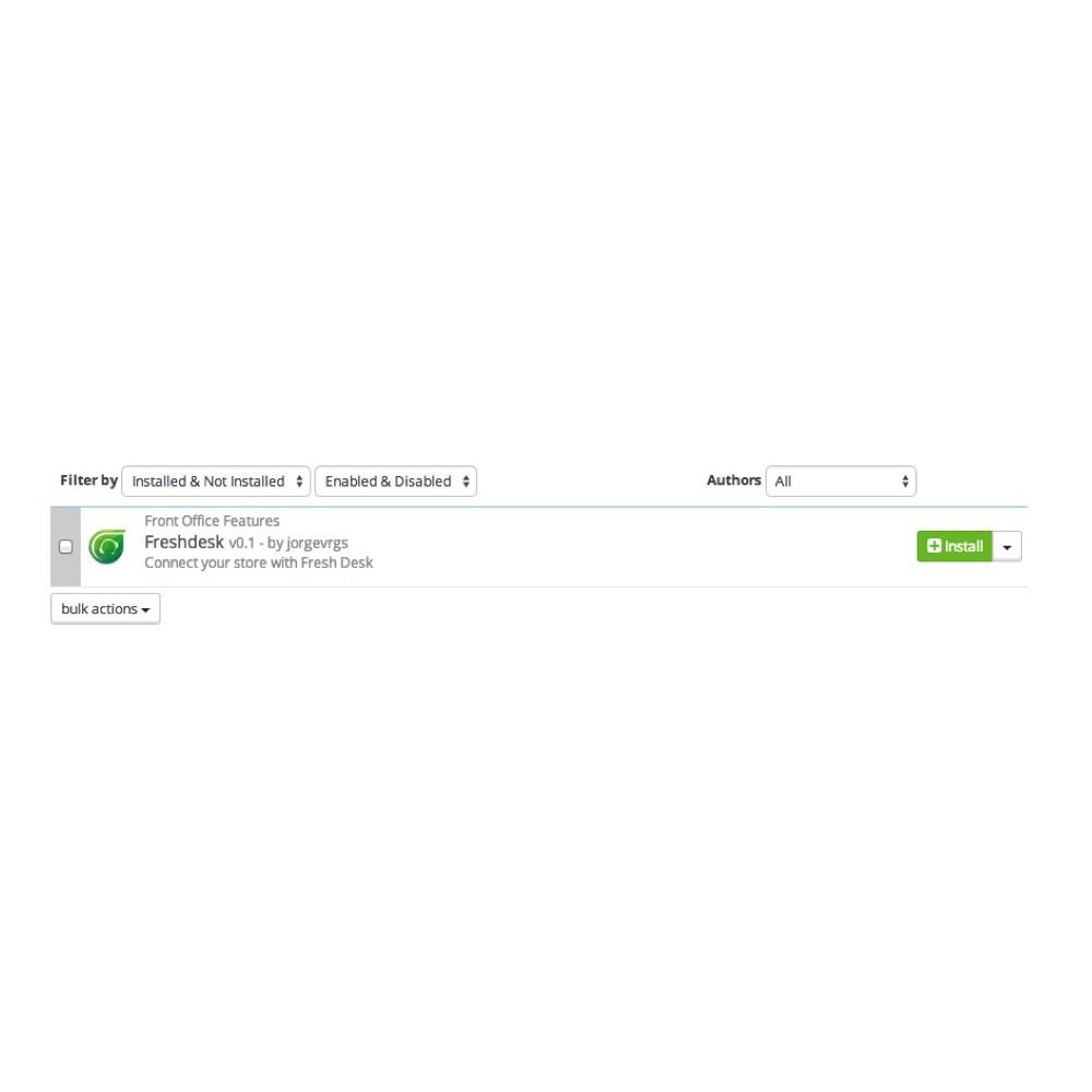 module - Service Client - Freshdesk - 5