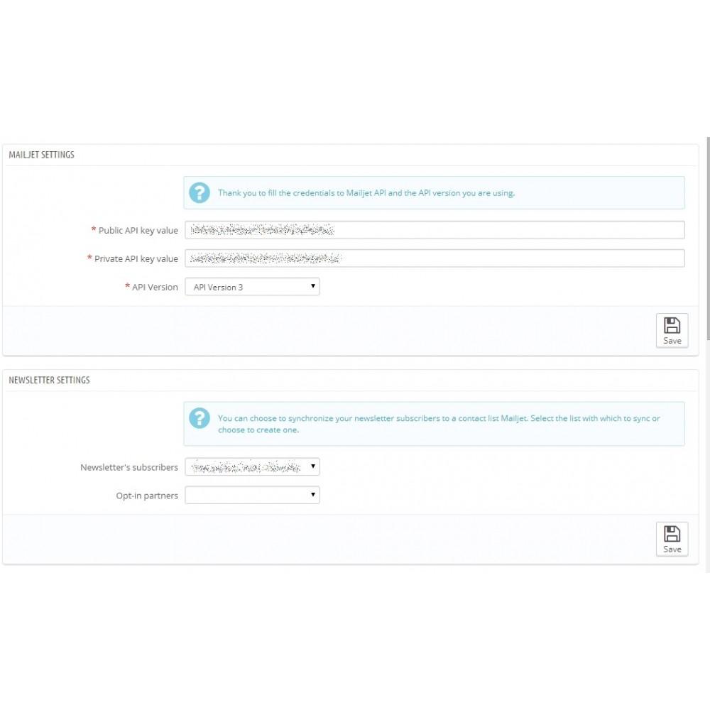 module - Nieuwsbrief & SMS - EmailingSync - 1