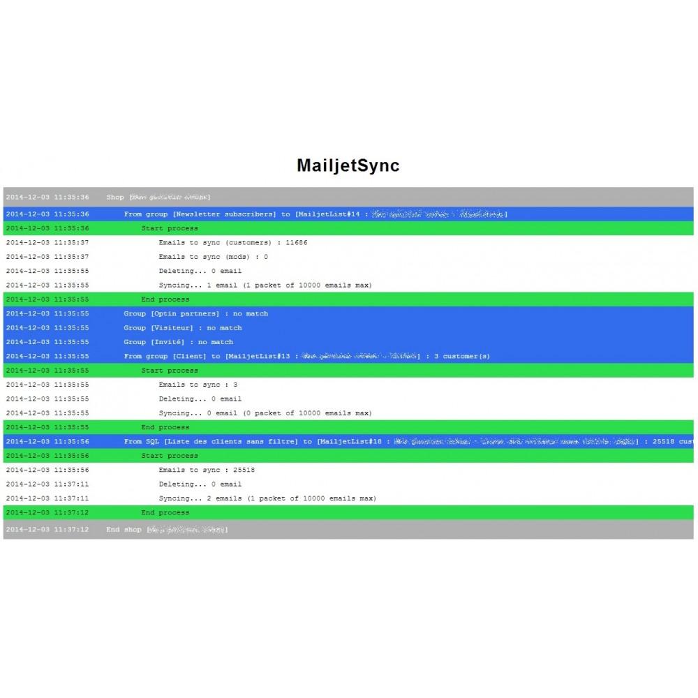 module - Nieuwsbrief & SMS - EmailingSync - 4