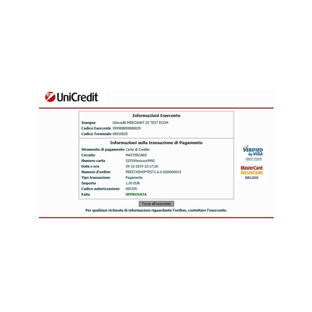 module - Zahlung per Kreditkarte oder Wallet - Unicredit PagOnline Imprese - 4