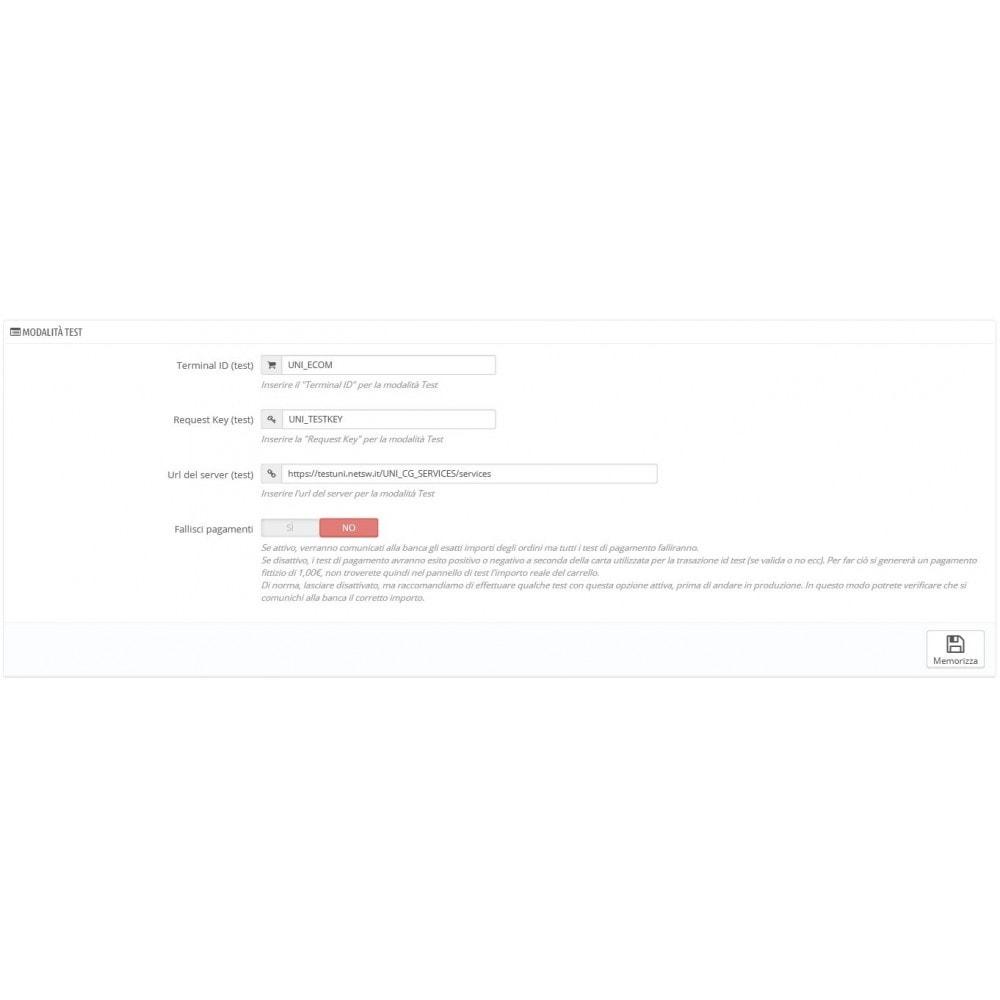 module - Zahlung per Kreditkarte oder Wallet - Unicredit PagOnline Imprese - 8