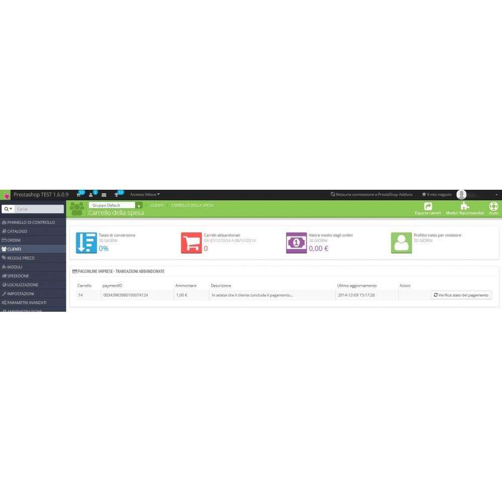 module - Оплата банковской картой или с помощью электронного кошелька - Unicredit PagOnline Imprese - 11
