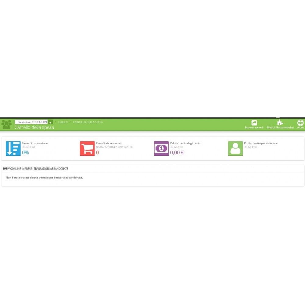 module - Оплата банковской картой или с помощью электронного кошелька - Unicredit PagOnline Imprese - 13