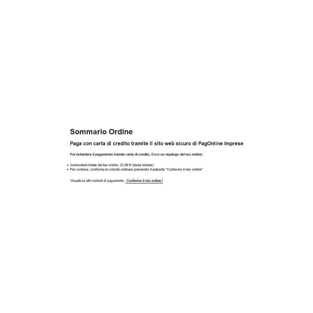 module - Zahlung per Kreditkarte oder Wallet - Unicredit PagOnline Imprese - 18