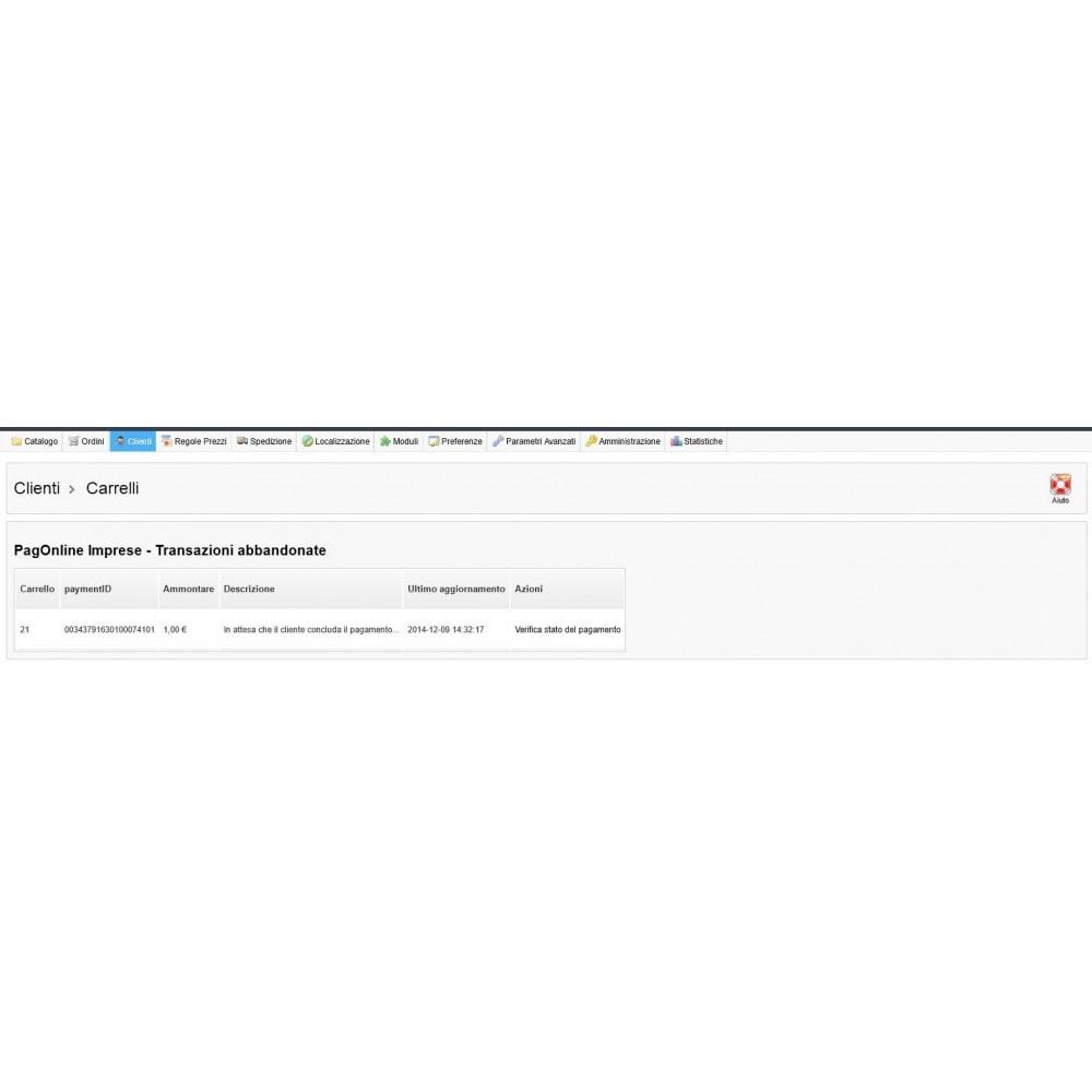 module - Оплата банковской картой или с помощью электронного кошелька - Unicredit PagOnline Imprese - 19