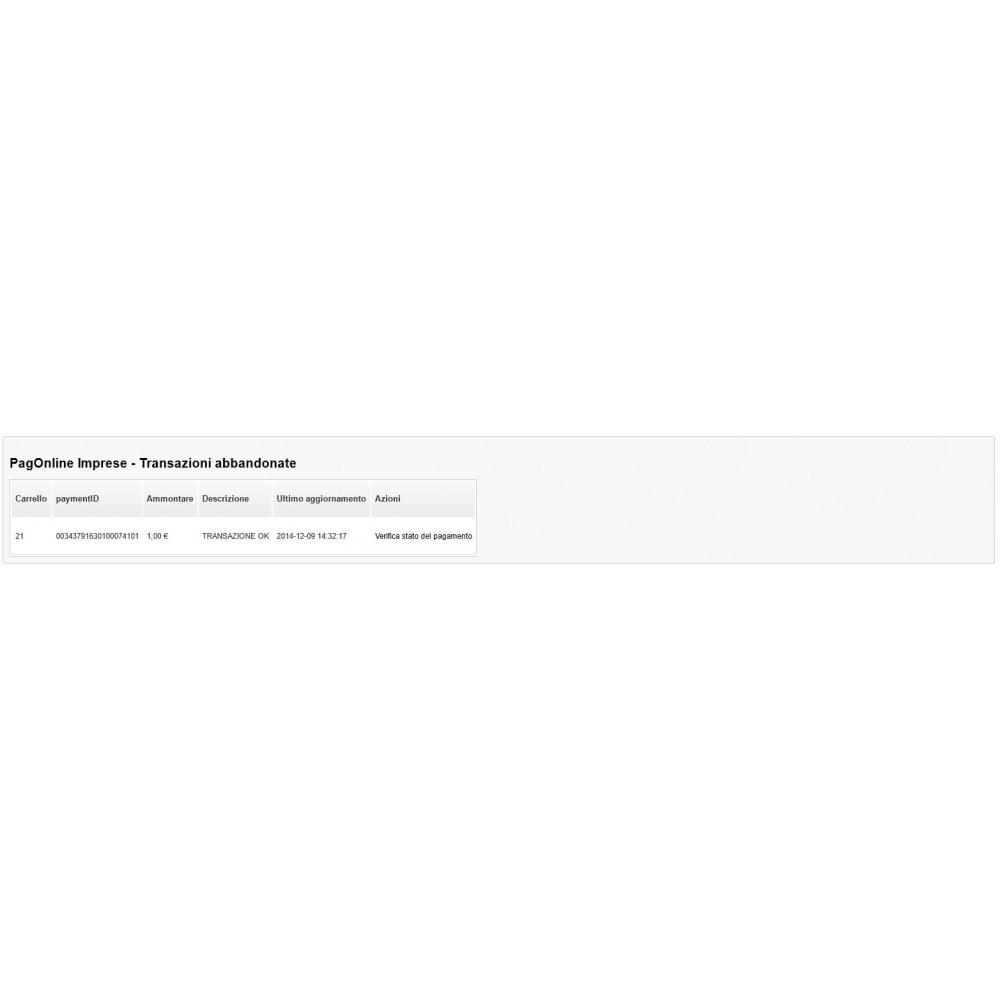 module - Оплата банковской картой или с помощью электронного кошелька - Unicredit PagOnline Imprese - 20
