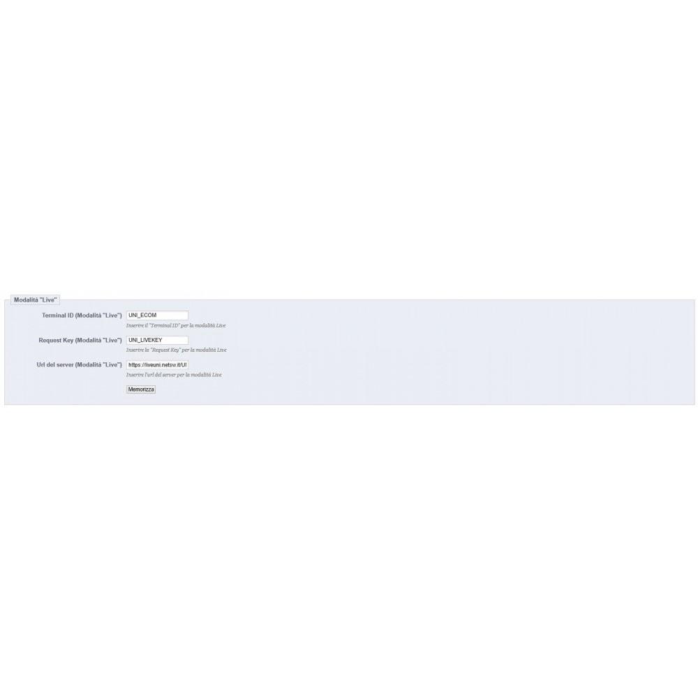 module - Zahlung per Kreditkarte oder Wallet - Unicredit PagOnline Imprese - 24